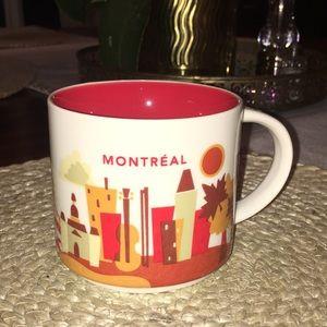 """STARBUCKS """"MONTREAL"""" Mug"""